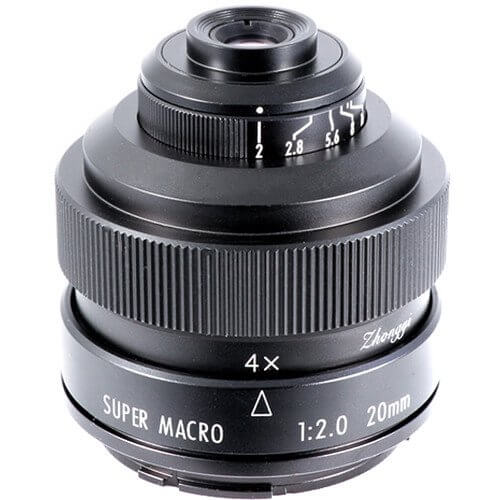 Mitakon Lens 20mm F2 Super Macro 4.5X for Canon ประกันศูนย์ 4
