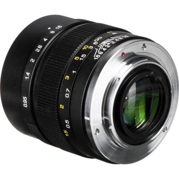 Mitakon Lens 35mm F0.95 I Manual focus for Fuji X ประกันศูนย์ Black 4