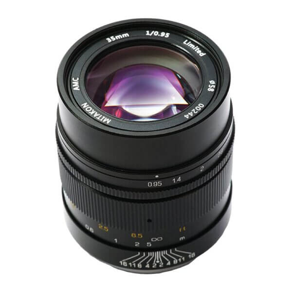Mitakon Lens 35mm F0.95 I Manual focus for Fuji X EOL ประกันศูนย์ 4