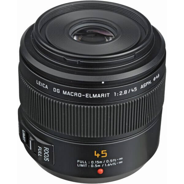 Panasonic Leica DG Macro Elmarit 45mm f2.8 2