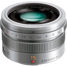 Panasonic Lens 15mm silver 1