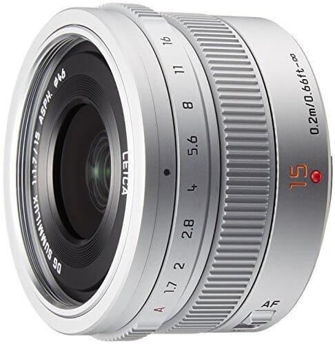 Panasonic Lens 15mm silver 2