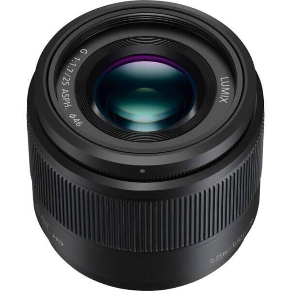 Panasonic Lens 25mm BLK 2