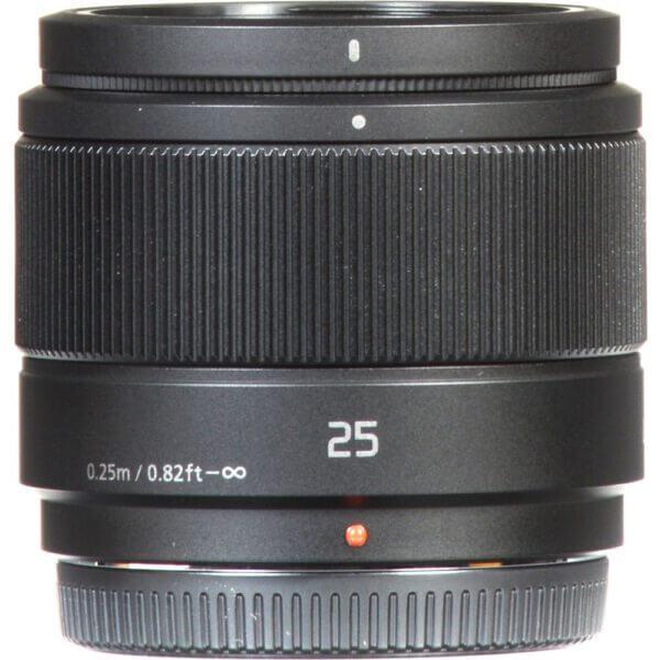Panasonic Lens 25mm BLK 5