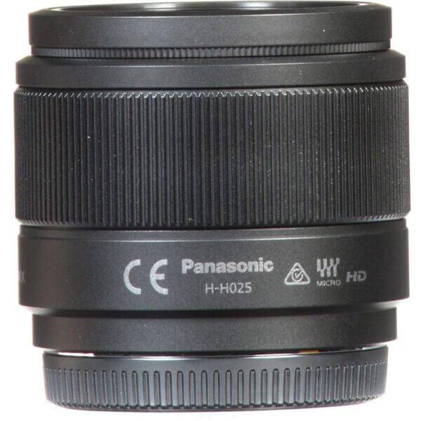 Panasonic Lens 25mm BLK 7