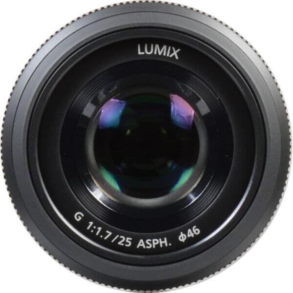 Panasonic Lens 25mm BLK 9
