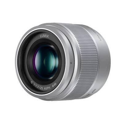 Panasonic Lens 25mm Silver 1
