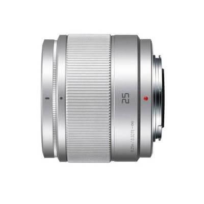 Panasonic Lens 25mm Silver 2