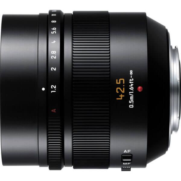 Panasonic Lens 42.5mm Leica 3