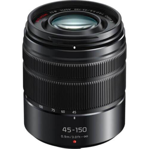 Panasonic Lens 45 150mm f4.0 5.6 Lumix G Vario Black 1