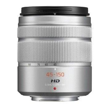 Panasonic Lens 45 150mm f4.0 5.6 Lumix G Vario Silver 1