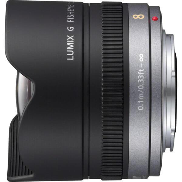 Panasonic Lens 8mm F3.5 Lumix G Fisheye 2