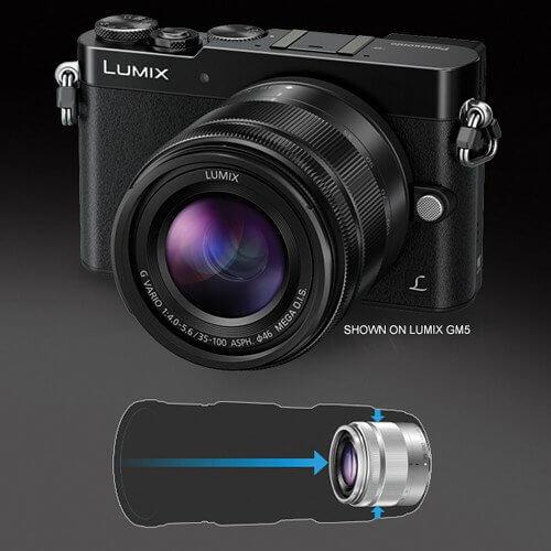 Panasonic Lumix G Vario 35 100mm 4