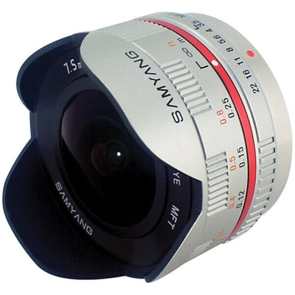 Samyang 7.5mm f3.5 UMC Fisheye MFT Lens Silver เลนส์ฟิสอาย 2
