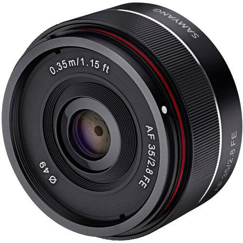 Samyang Auto Focus 35mm F2.8 for Sony FE Mount 3
