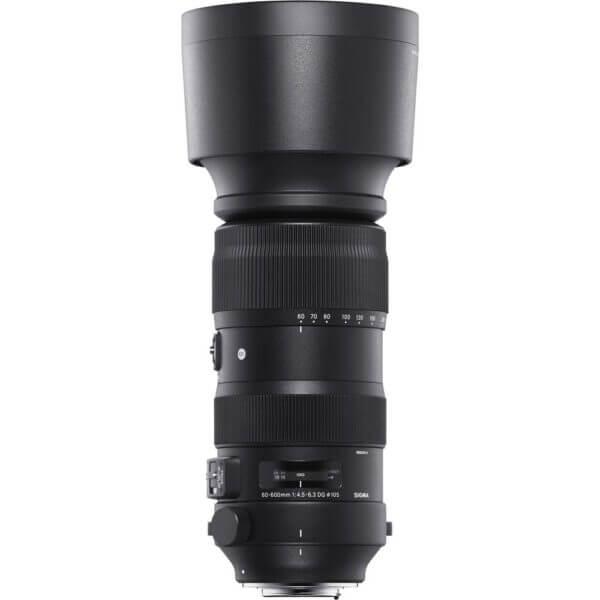 Sigma Lens 60 600mm S F4.5 6.3 DG OS HSM 4