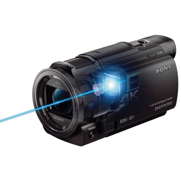 Sony Handycam FDR AX33 Black 11