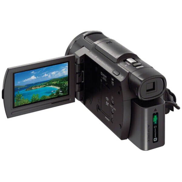 Sony Handycam FDR AX33 Black 6