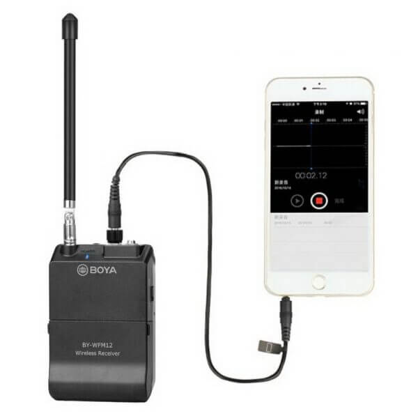 Boya BY WFM12 VHF Wireless Microphone System 21