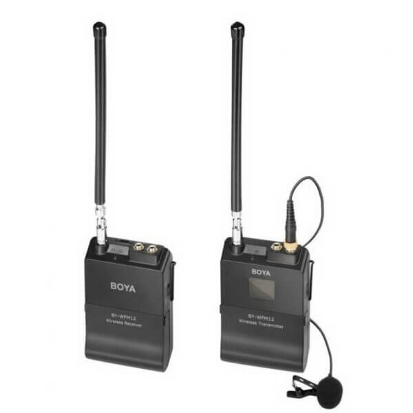 Boya BY WFM12 VHF Wireless Microphone System 23