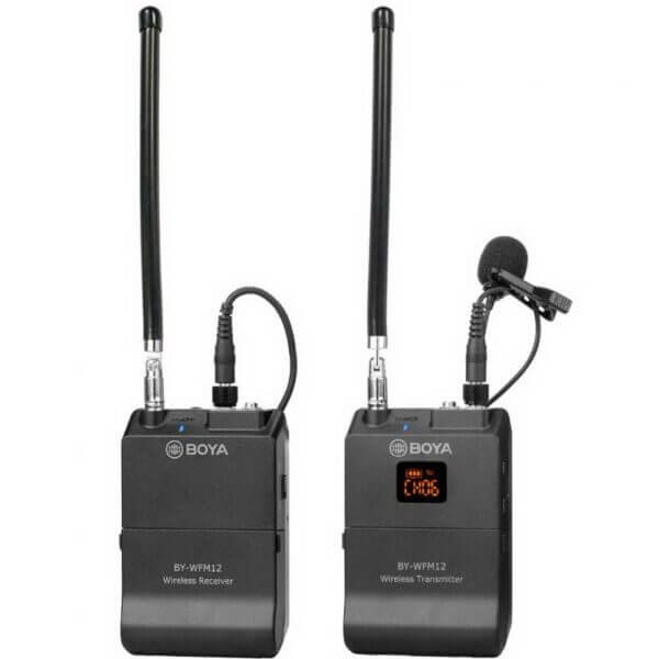 Boya BY WFM12 VHF Wireless Microphone System 4