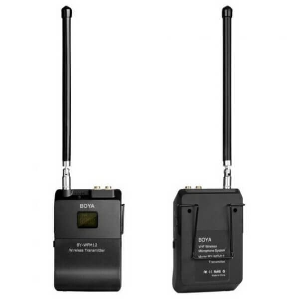 Boya BY WFM12 VHF Wireless Microphone System 5