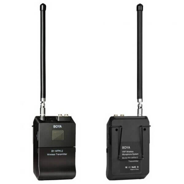 Boya BY WFM12 VHF Wireless Microphone System 6