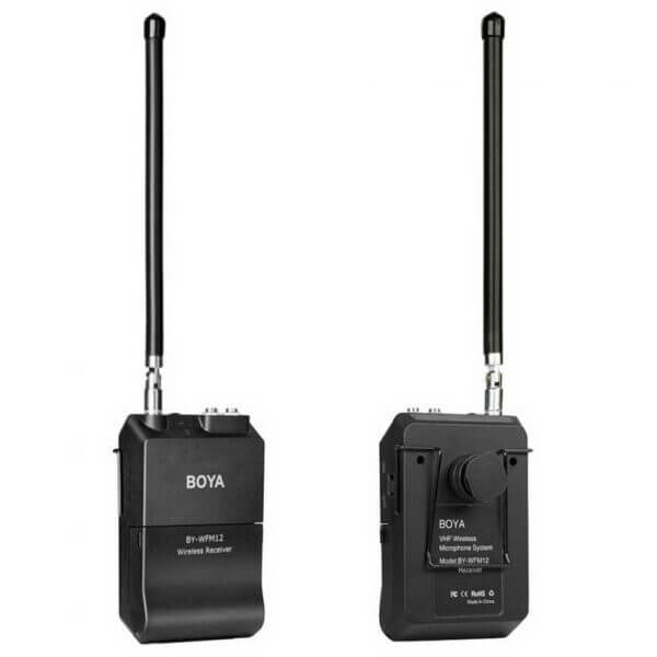 Boya BY WFM12 VHF Wireless Microphone System 8