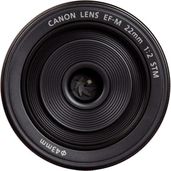 Canon Lens EF M 22mm F2 STM No Package Thai 3