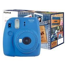 Fujifilm Instax mini 9 Denim Set Cobalt Blue 6