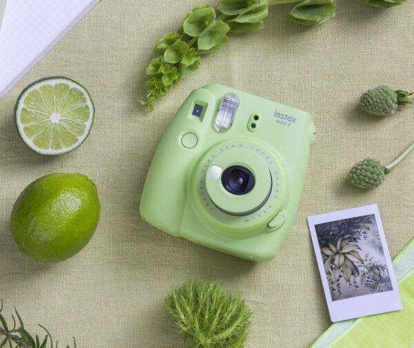 Fujifilm Instax mini 9 Denim Set Lime Green 2