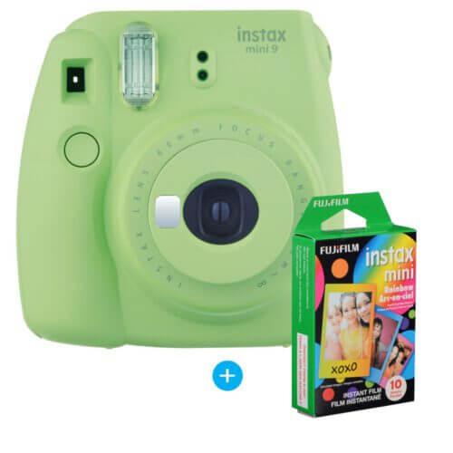 Fujifilm Instax mini 9 Denim Set Lime Green 5