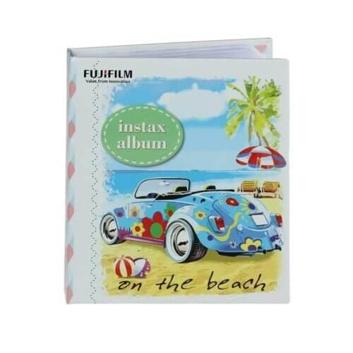 Fujifilm Instax mini film Album Blue Folk Car 1