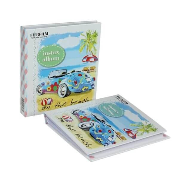 Fujifilm Instax mini film Album Blue Folk Car 4