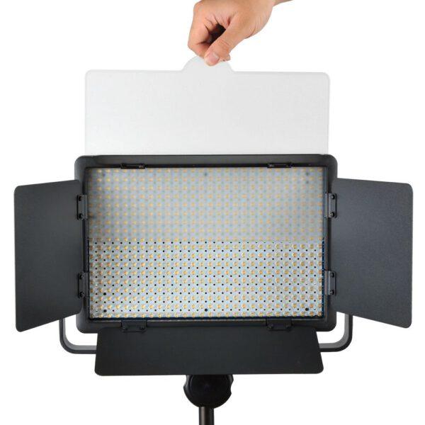 Godox LED500LR C Bi Color LED Light with Barmdoor Remote Controller 6