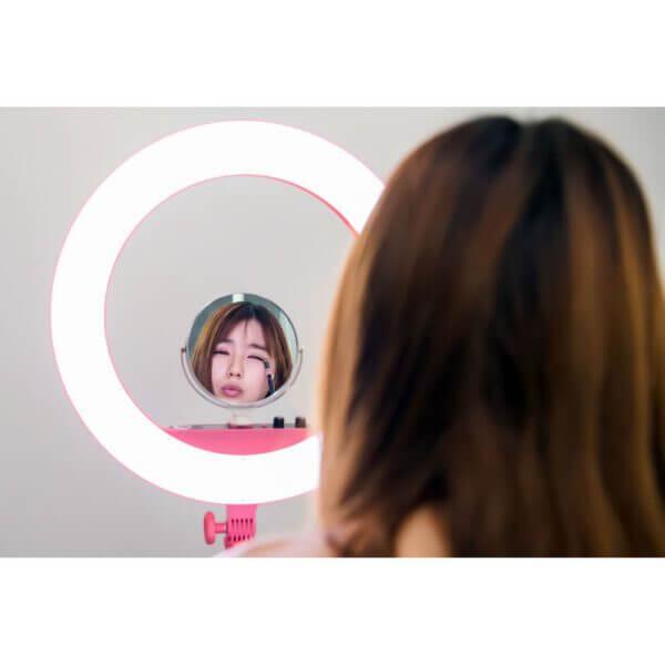 Godox LR160 LED Ring Light ไฟแต่งหน้า 18 inches Pink 11
