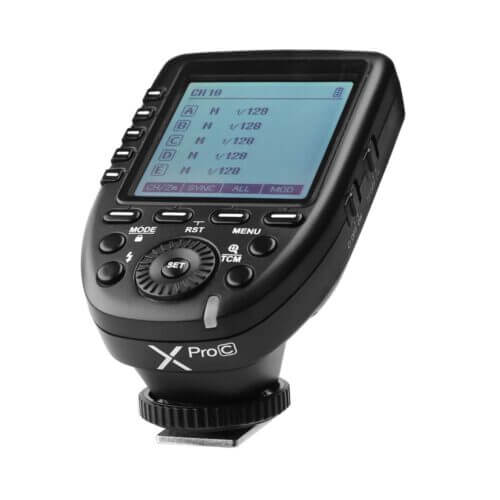 Godox X PRO C TTL Wireless Flash Trigger for Canon 1