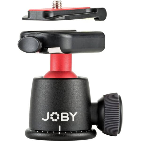 Joby Ball Head 3K Black Red 6