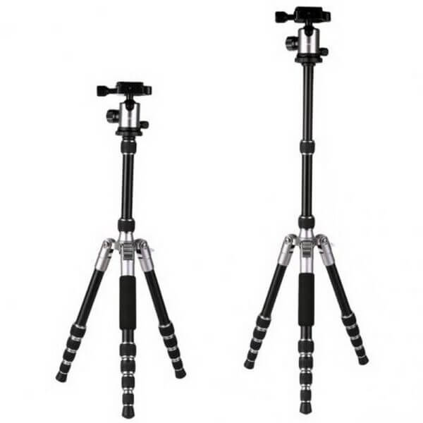 KF KF09014 TM2235 Lightweight Aluminium DSLR Camera Tripod 50 w Ball Head Silver 3