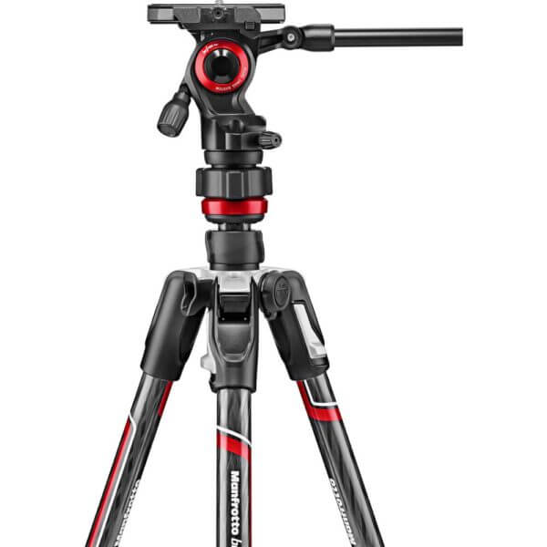Manfrotto Befree Live Advanced Carbon Tripod with Video Head 2