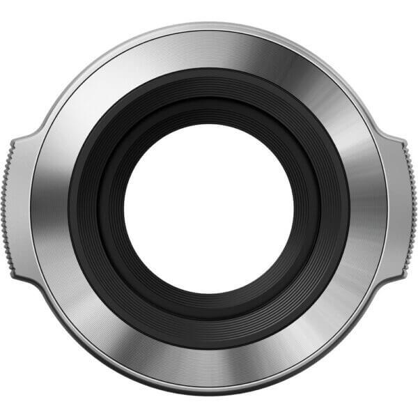 Olympus Auto Lens cap LC 37C Silver Thai 2