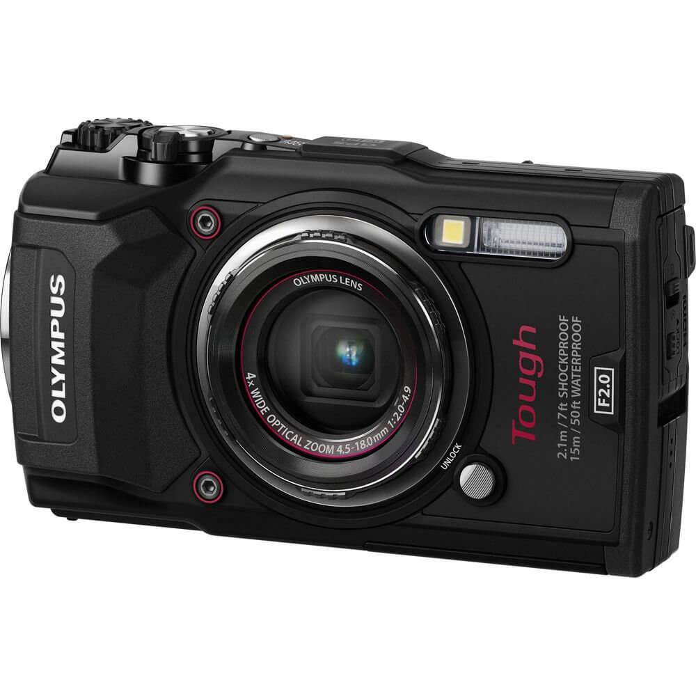 Olympus waterproof camera TG-5 Tough Black-(ประกันศูนย์)