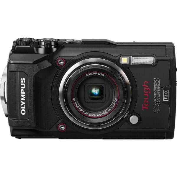 Olympus waterproof camera TG 5 Tough Black Thai 2