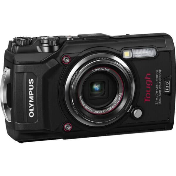 Olympus waterproof camera TG 5 Tough Black Thai 3