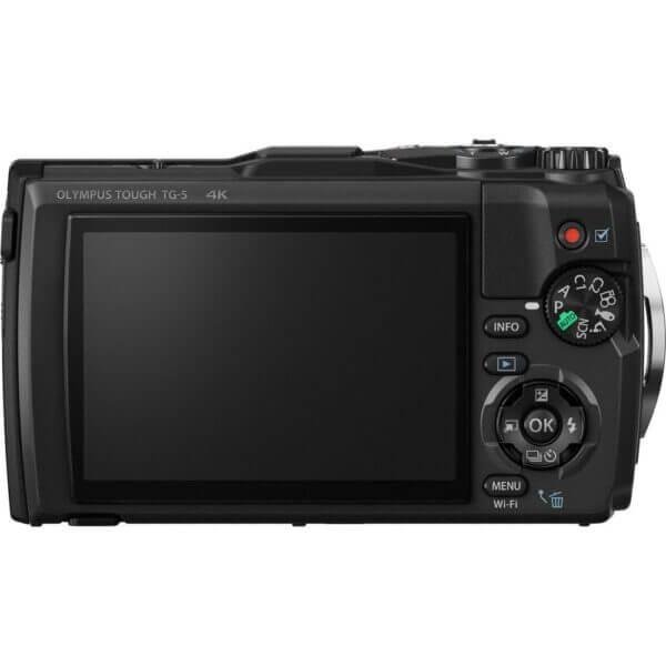 Olympus waterproof camera TG 5 Tough Black Thai 4