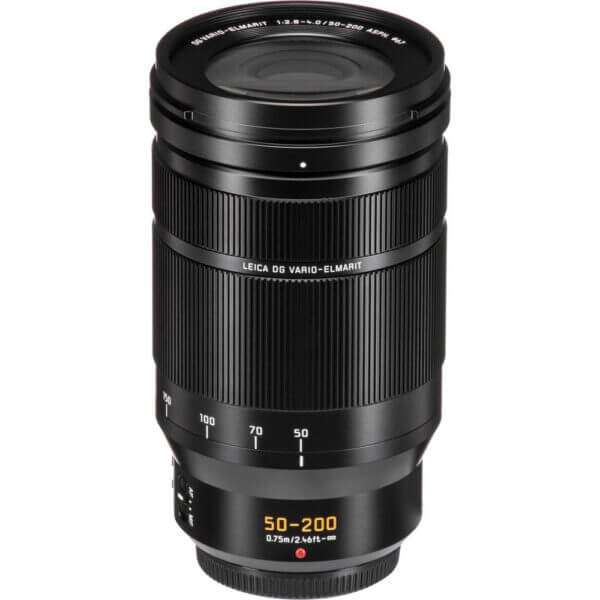 Panasonic Lens 50 200mm F2.8 4.0 Leica DG Power O.I.S Black ประกันศูนย์ 12