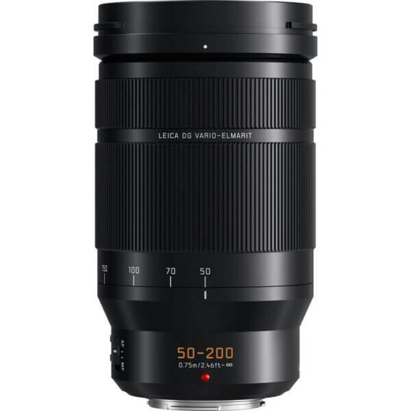 Panasonic Lens 50 200mm F2.8 4.0 Leica DG Power O.I.S Black ประกันศูนย์ 3