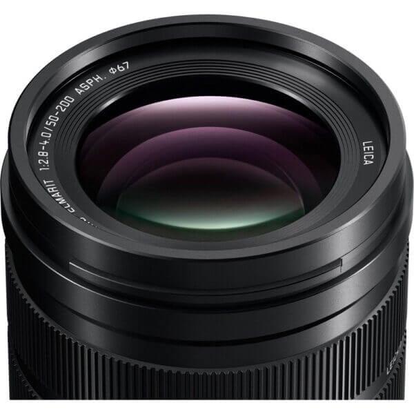 Panasonic Lens 50 200mm F2.8 4.0 Leica DG Power O.I.S Black ประกันศูนย์ 5