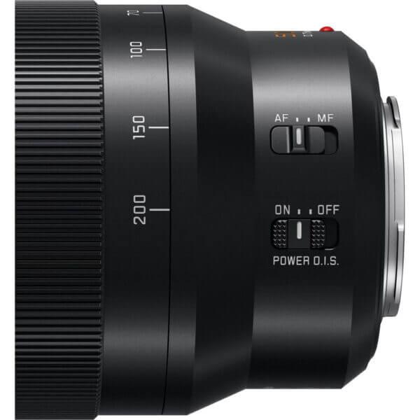 Panasonic Lens 50 200mm F2.8 4.0 Leica DG Power O.I.S Black ประกันศูนย์ 6