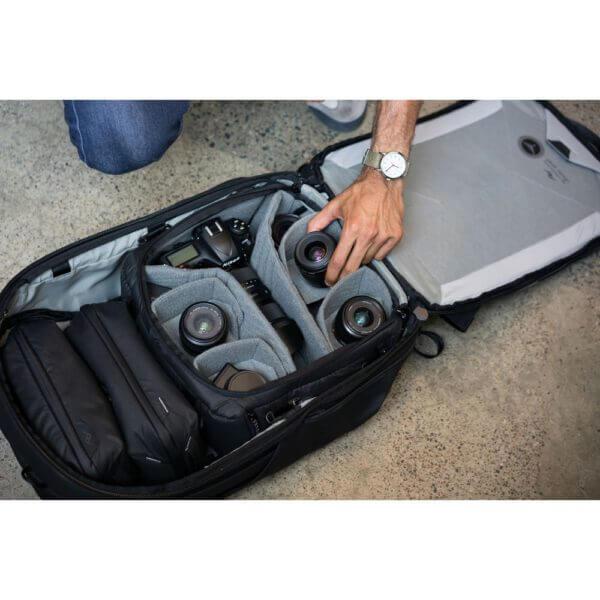 Peak Design BCC L BK 1 Travel Camera Cube for Travel Bag Large 25